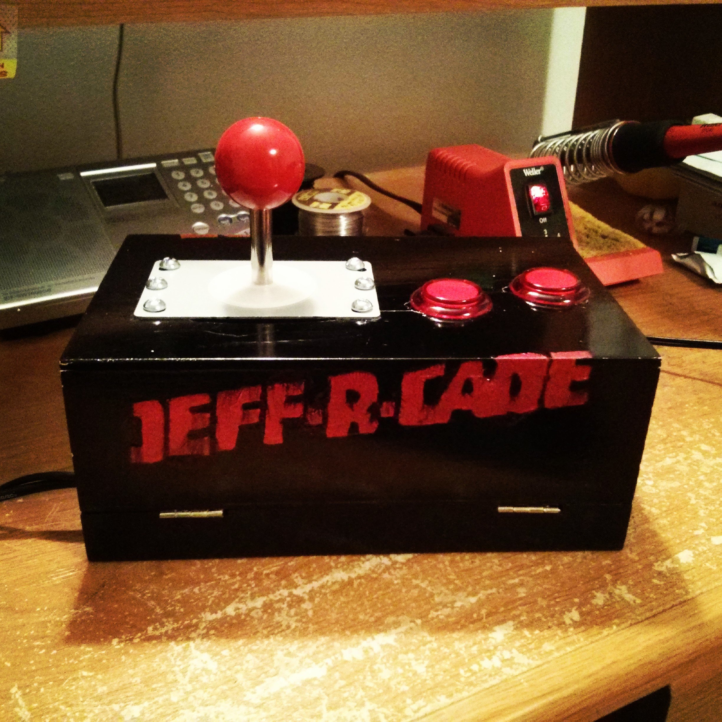 Build a Raspberry Pi Powered Arcade Machine! :: Mike Gualtieri