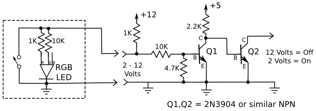 transistor inverter schematic